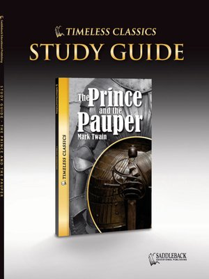 cover image of The Prince and the Pauper Study Guide